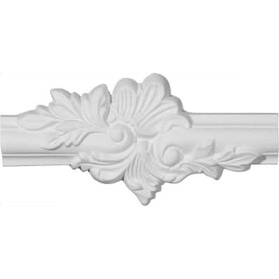 9-1/4 in. x 3/4 in. x 4-1/4 in. Polyurethane Ashford Panel Moulding Center