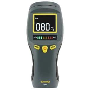 Professional Digital Pinless Moisture Meter with Backlit LCD