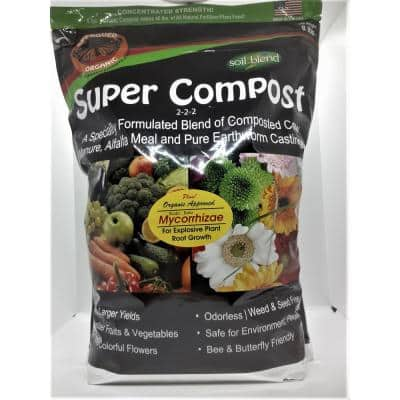 Super Compost with Myco, Concentrated 8 lbs. Bag Makes 40 lbs.
