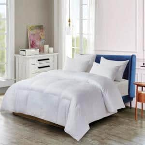Twin 100% Cotton Down Alternative All Seasons Comforter with Purissimo Technology