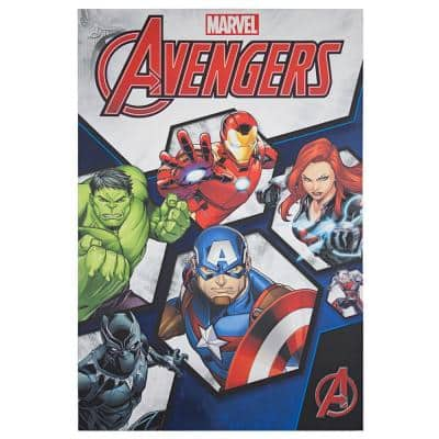 Licensed Marvel Comics Avengers Comic Book Cover Wrapped Canvas Wall Art