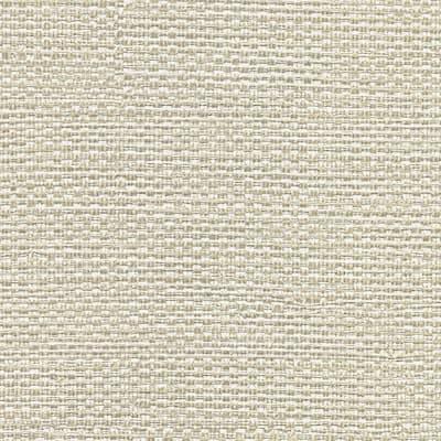 Bohemian Bling Off-White Basketweave Off-White Wallpaper Sample