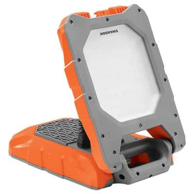 3600 Lumens, 40-Watt Foldable LED Bluetooth Work Light