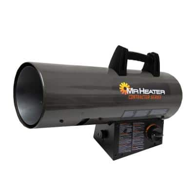 Contractor Series 75,000 to 125,000 BTU Portable Forced Air Propane Heater