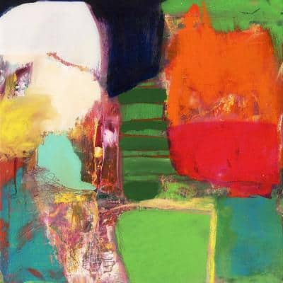 """54 in. x 54 in. """"Heart Chambers"""" by Jodi Fuchs Wall Art"""
