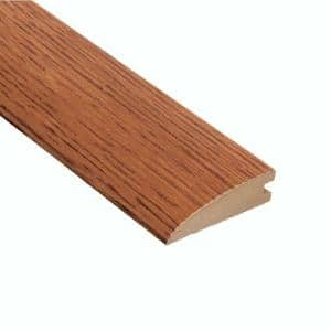Oak Gunstock 3/8 in. Thick x 2 in. Wide x 47 in. Length Hard Surface Reducer Molding