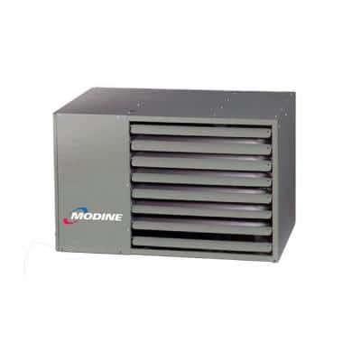 PTP 150,000 BTU Natural Gas Low Profile Stainless Steel Power Vented Unit Heater
