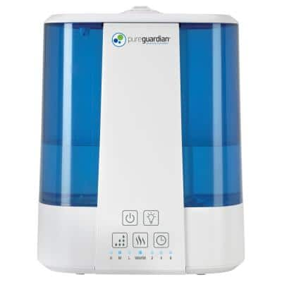 2 Gal. Top Fill Ultrasonic Warm and Cool Mist Humidifier with Aroma Tray