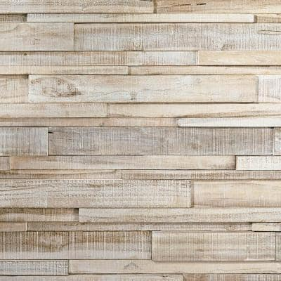 0.98 in. x 3.94 in. x 2.56 ft. Asian Teak Jointless Common Plank (18-Pack)