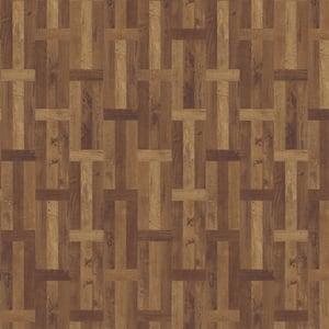Elliston Bay 11.89 in. W x 27.87 in. L Parquet Luxury Vinyl Plank Flooring (23 sq. ft. / case)