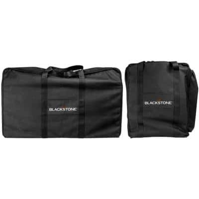 Tailgater Combo Black Grill Cover/Carry Bag