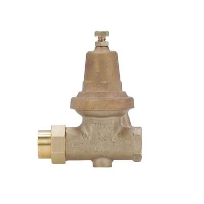 3/4 in. Brass Water Pressure Reducing Valve