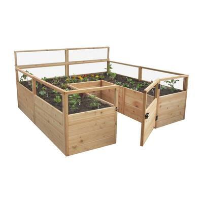 8 ft. x 8 ft. Garden in a Box