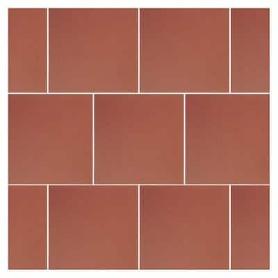 Quarry Red Blaze 6 in. x 6 in. Abrasive Ceramic Floor and Wall Tile (11 sq. ft. / case)