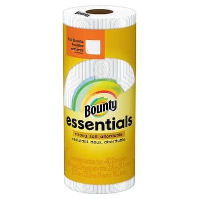 Essentials White Paper Towel Roll (40 Sheets Per Roll, 30 Rolls Per Case)