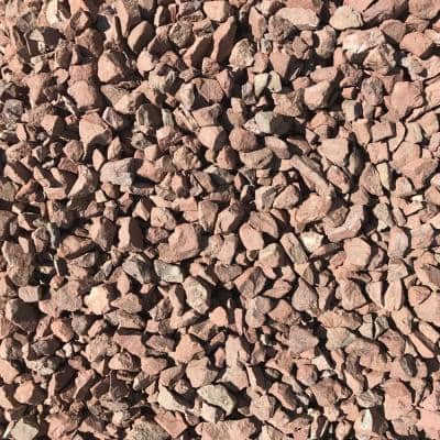 0.50 cu. ft. 40 lbs. 3/4 in. Burnt Sienna Brown Decorative Landscaping Gravel (20-Bag Pallet)