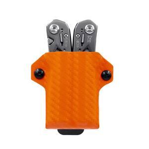 Kydex Multi-Tool Sheath for Gerber Suspension - Multi-Tool, Multi-Tool Sheath Holder Holster (Carbon Fiber Brown)