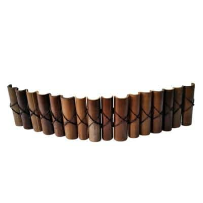 72 in. L x 2 in. W Natural Black Bamboo Level Top Edging
