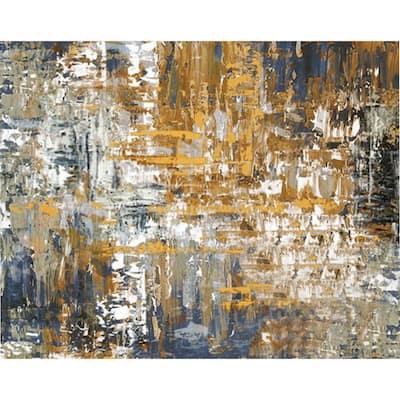 "48 in. x 36 in. ""Floretta"" Canvas Wall Art"