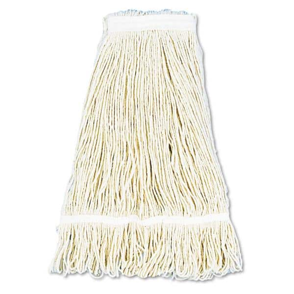Boardwalk 24 Oz Cotton Pro Loop Web Tailband Wet Mop Head In White 12 Carton Bwk424cct The Home Depot