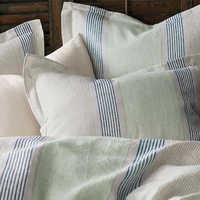 Grady Stripe Linen Sham