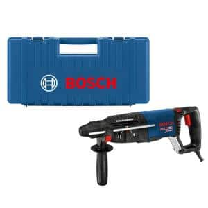 Bulldog Xtreme 8 Amp 1 in. Corded Variable Speed SDS-Plus Concrete/Masonry Rotary Hammer Drill with Carrying Case