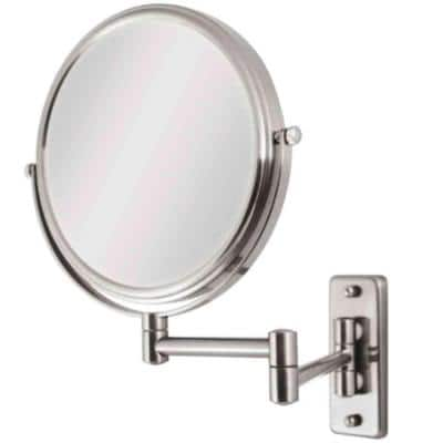 Swing Arm Bathroom Mirrors Bath, Extra Large Wall Mounted Swivel Mirror