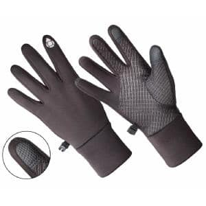 Ladies Multi-Purpose Athletic Glove, Touchscreen Compatible - Black (1 Size Fits All)