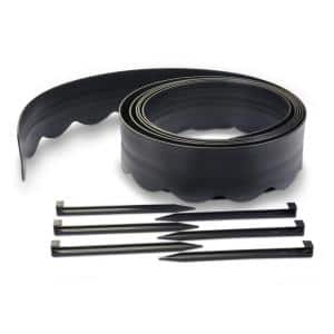 2-in-1 20 ft. x 4.5 in. Landscape Edging Kit