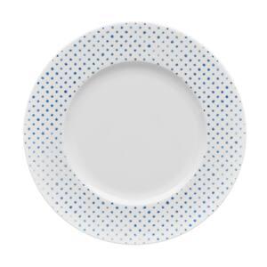 Blue/White Hammock Porcelain Dots Rim Salad Plate 9-1/2 in.