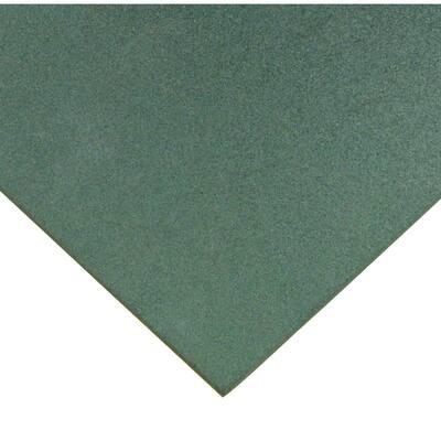Eco-Sport 1 in. T x 1.66 ft. W x 1.66 ft. L Green Interlocking Rubber Flooring Tiles (50.0 sq. ft.) (18-pack)