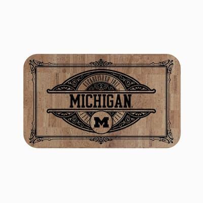 University of Michigan Cork Comfort Mat 18 in. x 30 in.