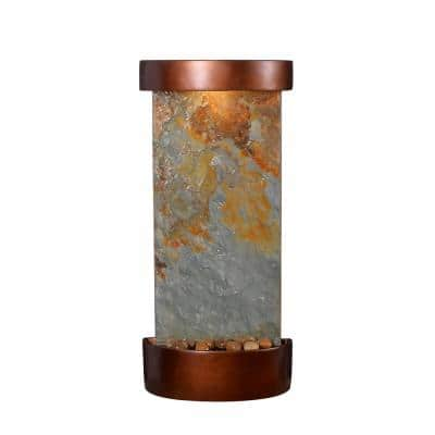 Riverbed Resin and Slate Table/Wall Fountain