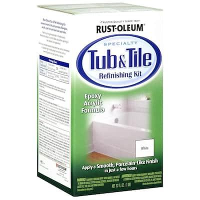 1 qt. White Tub and Tile Refinishing Kit