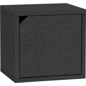 12.6 in. H x 13.4 in. W x 11.2 in. D Black Recycled Materials 1-Cube Organizer