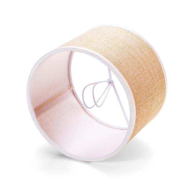 Linen Drum Chandelier Lamp Shades, Chandelier Lamp Shades Drum Shape