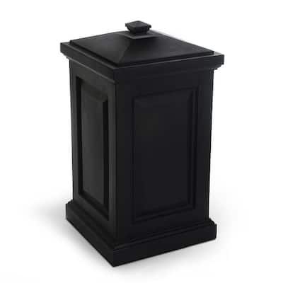 45 Gal. Berkshire Storage Bin in Black