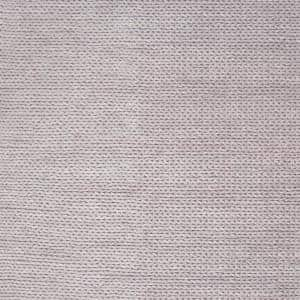 Caryatid Chunky Woolen Cable Light Gray 4 ft. Square Rug