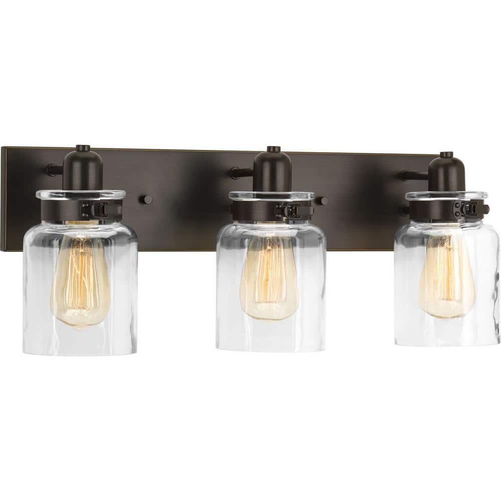 Hansford Collection Three-Light Bath /& Vanity by Progress Lighting
