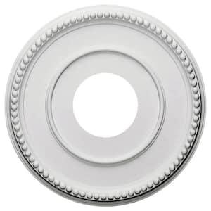 12-1/2'' x 3-7/8'' I.D. x 3/4'' Bradford Urethane Ceiling Medallion (Fits Canopies upto 6-5/8''), Primed White