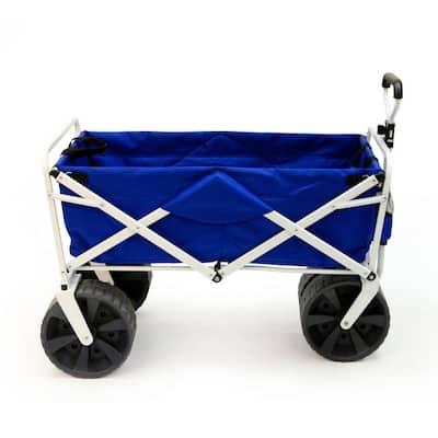 Collapsible Folding Steel Heavy-Duty All Terrain Beach Utility Wagon Cart