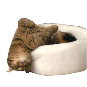 Mysterious Kitty Kup Medium White Bed