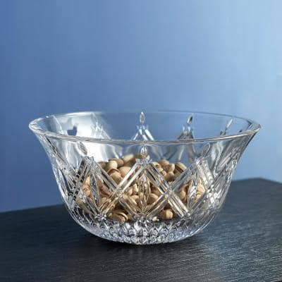 Lacey 9 in. Clear Crystal Bowl