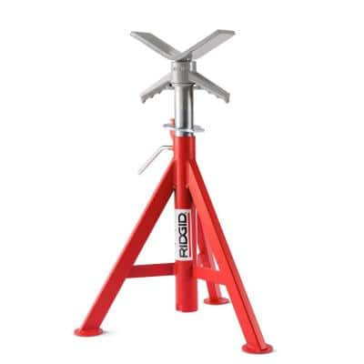 20 in. to 38 in. Model VJ-98 V-Head Low Pipe Stand