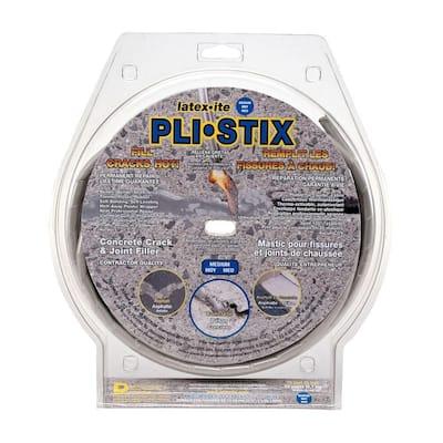 Pli-Stix 30 ft. Medium Gray Permanent Concrete Joint and Crack Filler