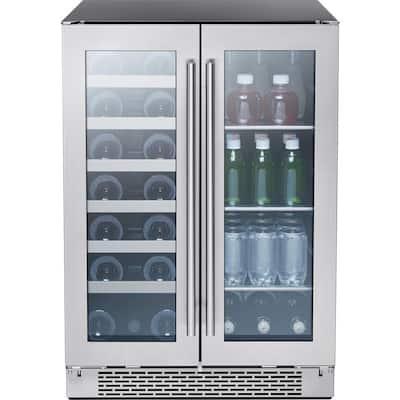 Presrv 24 in. 21-Bottle Wine and 64-Can Beverage Cooler