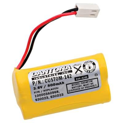 Dantona 3.6-Volt 800 mAh Ni-Cd Battery for Self-Power Lighting 930023 Emergency Lighting