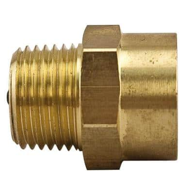 1/2 in. Brass FPT x MPT Service Check Valve