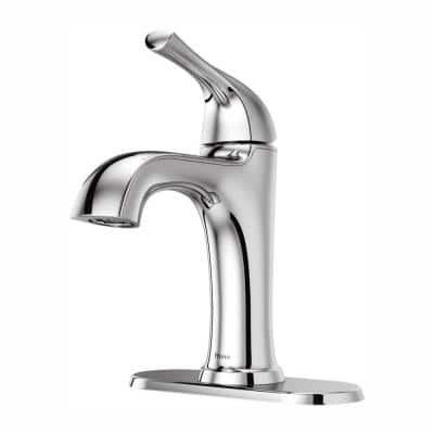 Ladera Single Hole Single-Handle Bathroom Faucet in Polished Chrome
