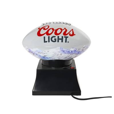 Football 30 oz. Grey Countertop Popcorn Machine
